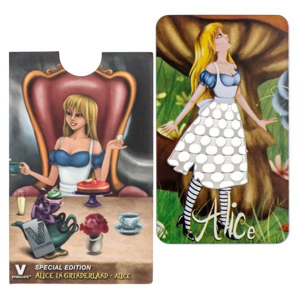 V Syndicate Special Edition Alice in Grinderland Card Grinder