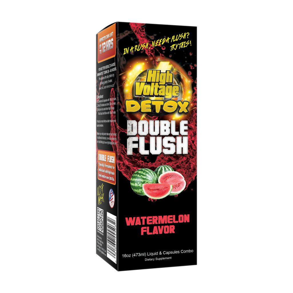 High Voltage Detox Double Flush Watermelon