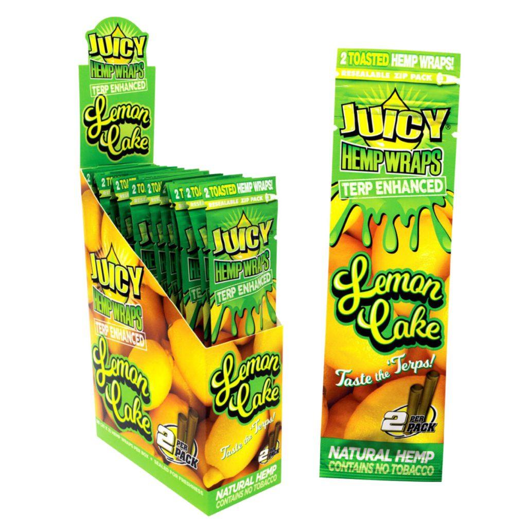 Juicy Jays Terp Enhanced Hemp Wraps